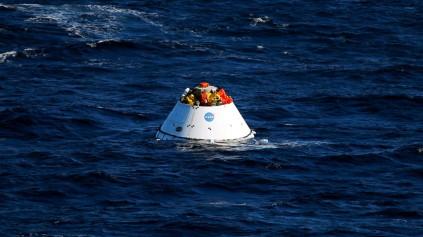 Orion landing